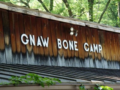 The Gnaw Bone Camp General Store Building.